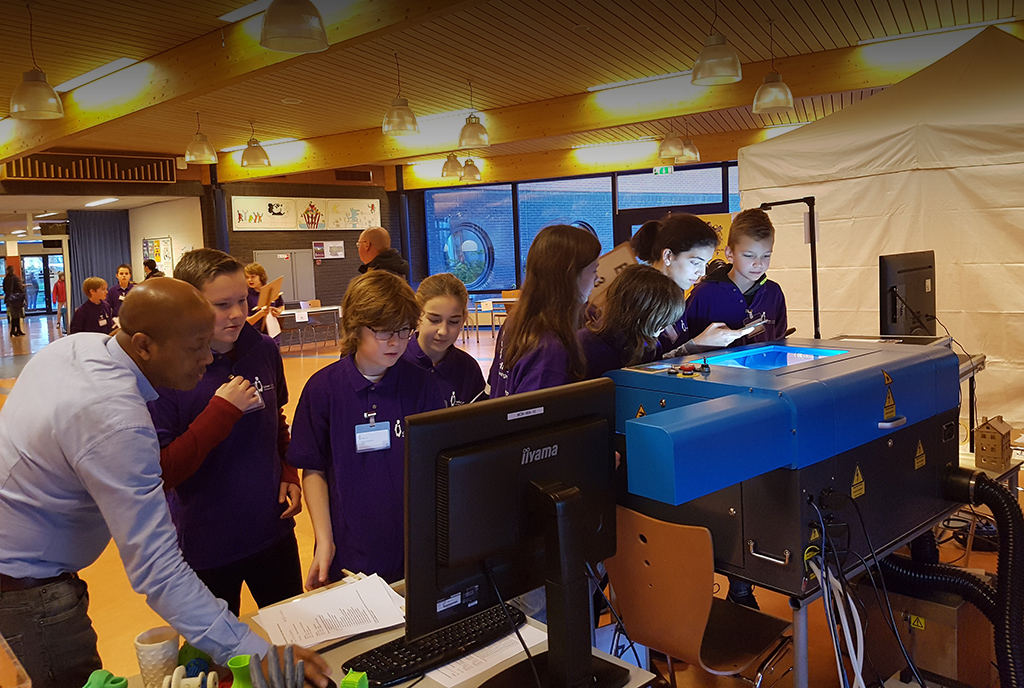 TechEvent Corlaer college groot succes!